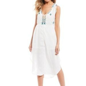 NWT Chelsea & Violet Embroidered Dress Size XL